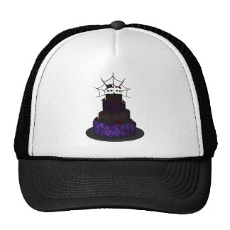 Cap with a Gothic wedding cake Trucker Hat