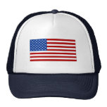 Cap with American Flag Image Trucker Hat