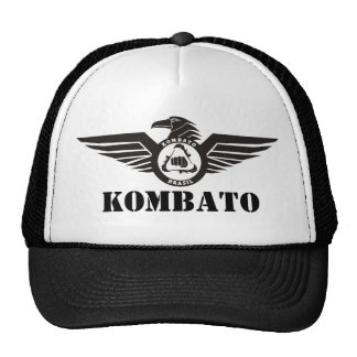 Cap with briefing trucker hat