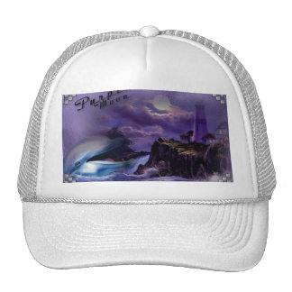 Cap with dolphin trucker hat