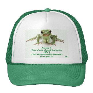 Cap with Frog Trucker Hat