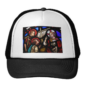 cap with Jesus photo Trucker Hat