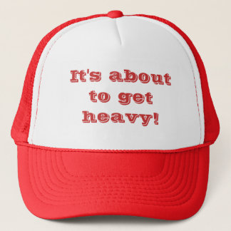 Cap with message