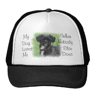 Cap with Shorty- customize-add your dog Trucker Hat