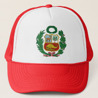 cap with the classic shield of Peru