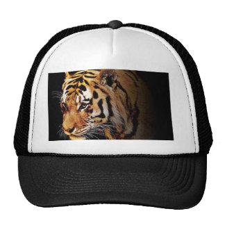 Cap with tiger motive trucker hat