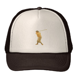 Cap with Vintage Golf Player Trucker Hat
