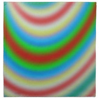 Capa colorida de línea modelo servilleta de papel