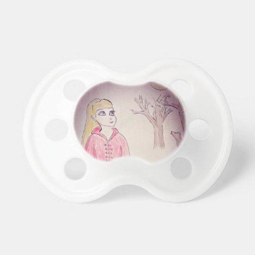 Capa con capucha del rojo de Litte Chupetes Para Bebés