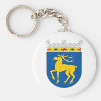 Capa de Åland del HACHA del brazo Llaveros Personalizados