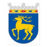 Capa de Åland del HACHA del brazo Postal
