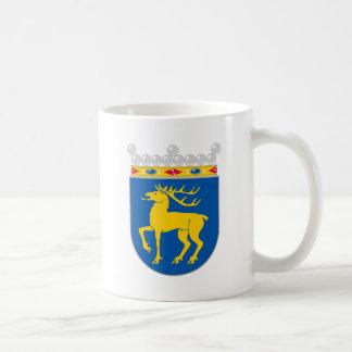 Capa de Åland del HACHA del brazo Tazas De Café