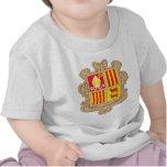 Capa de Andorra del brazo Camiseta