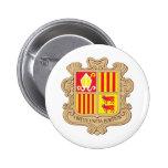 Capa de Andorra del brazo Pin