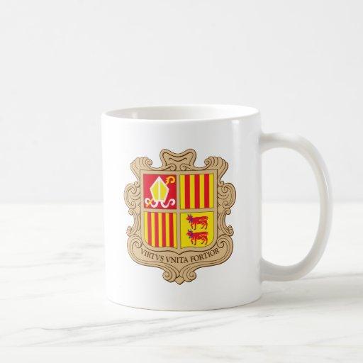Capa de Andorra del brazo Taza De Café