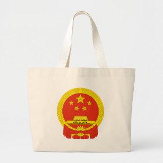 Capa de China del NC del brazo Bolsa Tela Grande
