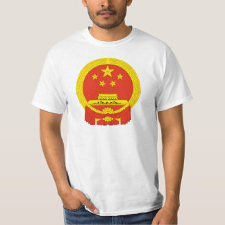 Capa de China del NC del brazo Playera