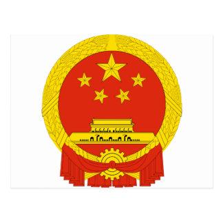 Capa de China del NC del brazo Postales