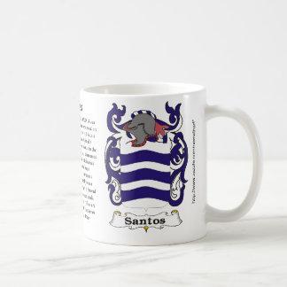 Capa de la familia de Santos de la taza del brazo