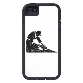 Capa de ladrillo iPhone 5 Case-Mate cárcasa