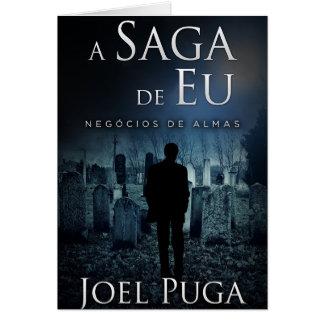 """Capa de """" Negócios de Almas"""" por Joel Puga Card"""