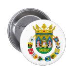 Capa de Sevilla (España) de Arms2 Pin Redondo De 2 Pulgadas
