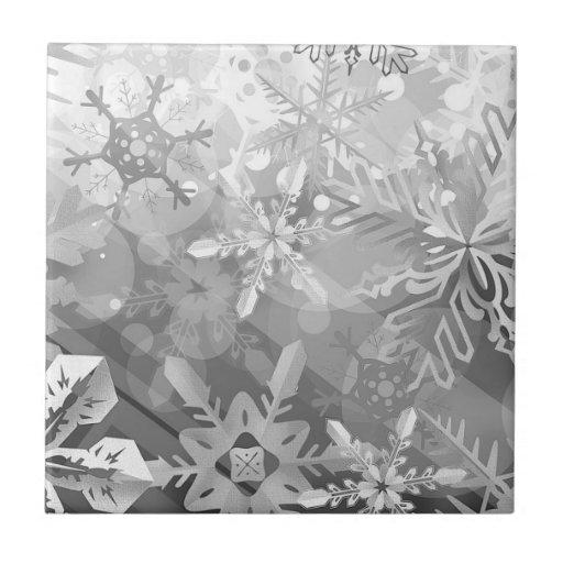 capa digital del realismo del invierno gris de los teja