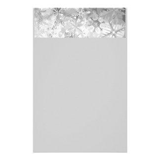 capa digital del realismo del invierno gris de los  papeleria de diseño