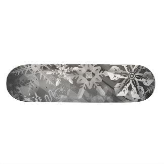 capa digital del realismo del invierno gris de los patines