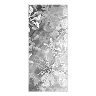 capa digital del realismo del invierno gris de los tarjeta publicitaria personalizada