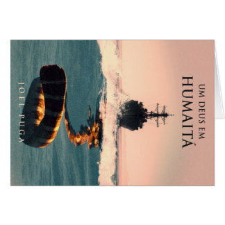 """Capa do livro """"Um Deus em Humaitá"""" Card"""