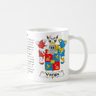 Capa húngara de la familia de Varga de la taza del