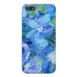 Capa i-Phone 5 - Flores Azuis iPhone 5 Capas