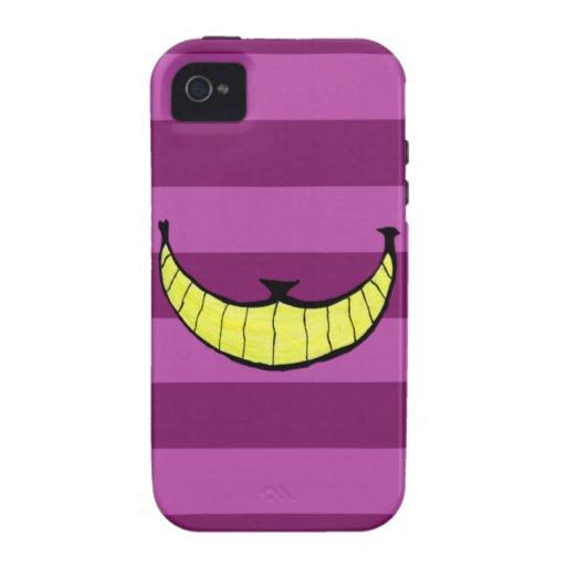 Capa iPhone4 Bold Cheshire Cat Smile iPhone 4 Capas Duras