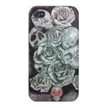 Capa Iphone 4 - Caveiras iPhone 4 Funda
