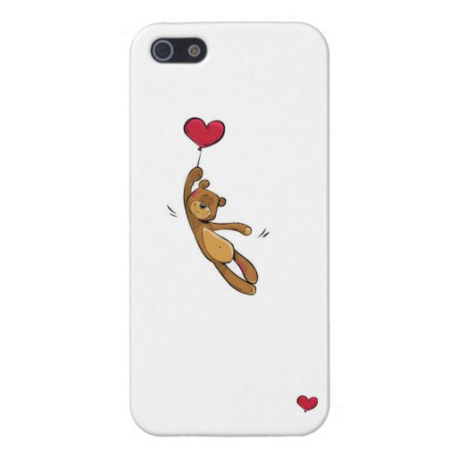 Capa Iphone urso no balão iPhone 5 Carcasa