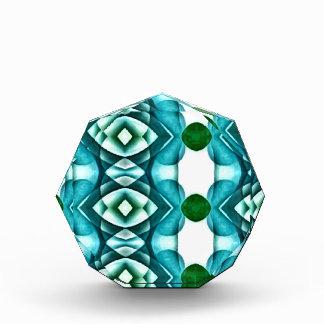 Capa moderna verde del cromo del color de las