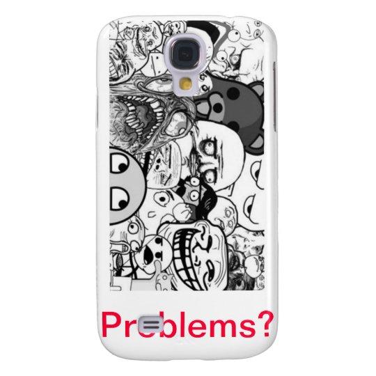 capa para Iphone 3 MEME Problems? Samsung Galaxy S4 Case