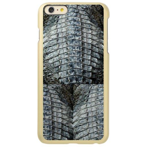 Capa para iPhone 6/6s Plus Crocodile. Incipio Feather Shine iPhone 6 Plus Case