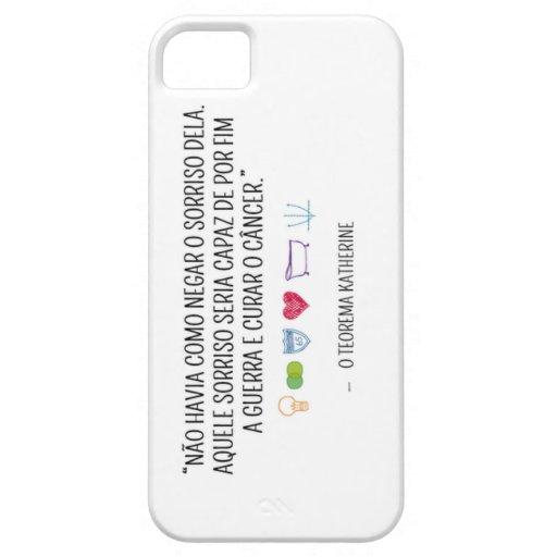 Capa para IPhone - Coleção livros Capa iPhone 5 Case-Mate