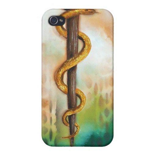 Capa para iPhone símbolo da Medicina iPhone 4/4S Fundas
