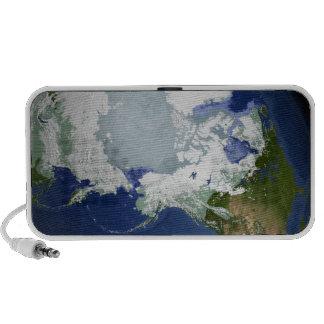 Capa permanente de hielo Circum-Ártica PC Altavoces