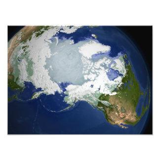Capa permanente de hielo Circum-Ártica Cojinete