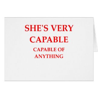 CAPABLE CARD