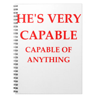 CAPABLE NOTEBOOK