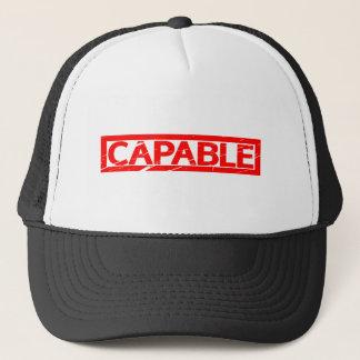 Capable Stamp Trucker Hat