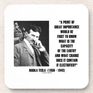 Capacidad de Nikola Tesla de la carga de la tierra Posavaso