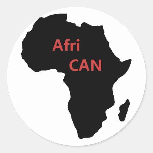 Capacitación y pegatina africanos del orgullo