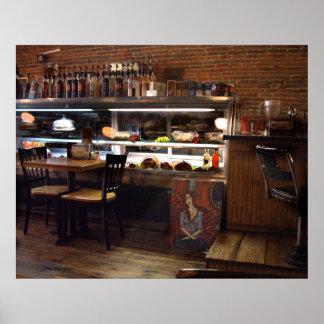 Capalanos Coffee Cafe Emporium Poster