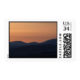Capas de la puesta del sol sellos